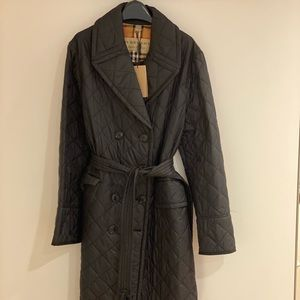 Burberry Quilted Trench Coat NWT (XL)